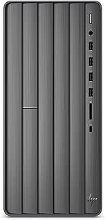 HP Envy Desktop Computer, Intel Core i7-9700, 16GB RAM, 1TB Hard Drive, 512 GB SSD, Windows 10 (TE01-0020, Black)