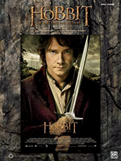Alfred Hobbit Unexpected Journey Easy Piano Book