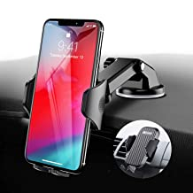 Car Phone Mount VICSEED Universal Car Phone Holder for Car Dashboard Windshield Adjustable Long Arm Strong Suction Cell Phone Car Mount Fit for iPhone X XS Max XR 8 Plus Samsung Galaxy S10 S9 Note 9