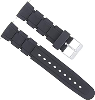 20MM RUBBER DIVER WATCH BAND STRAP FOR TAG HEUER AQUARACER F1 CALIBRE BLACK