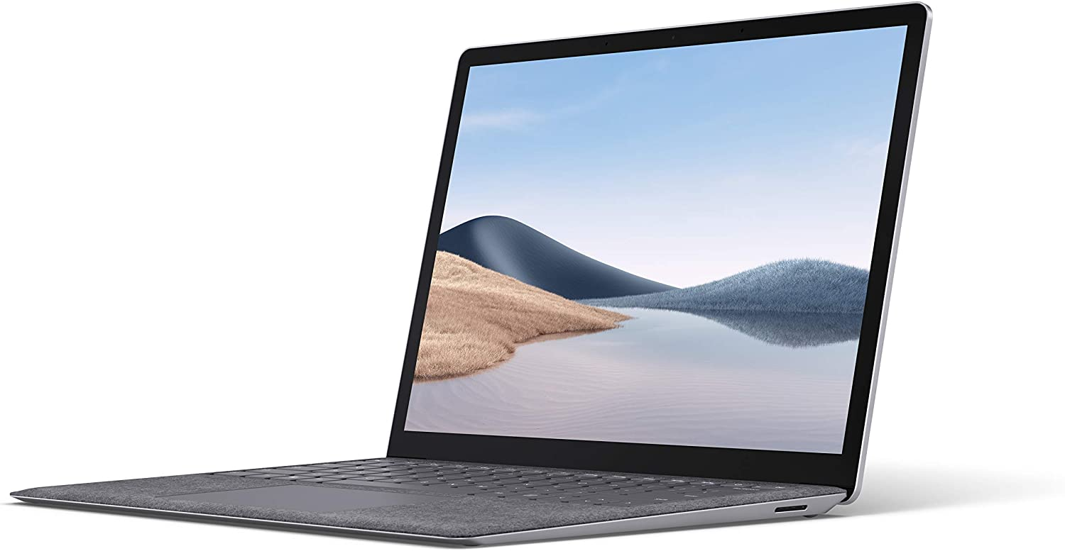 """Microsoft Surface Laptop 4 13.5"""" Touch-Screen – IntelCorei7-16GB -512GBSolid State Drive(Latest Model)-Platinum"""