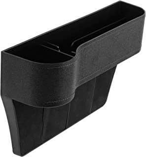 Cartaoo Car Seat Catcher Side Storage Box Multifunctional Console Side Gap Filter Organizer Cup Holder Coin Card Wallet Ci...