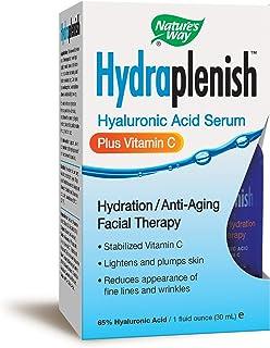 Nature`s Way Hydraplenish Serum + Vitamin C Facial Therapy, 1 Oz.