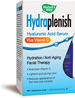 Nature's Way Hydraplenish Serum + Vitamin C Facial Therapy, 1 Oz.