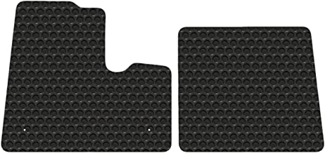 Kenworth T600 T800 W900 Models Black Rubbertite Floor Mats by Lloyd's Fits Most Models to Year 2000