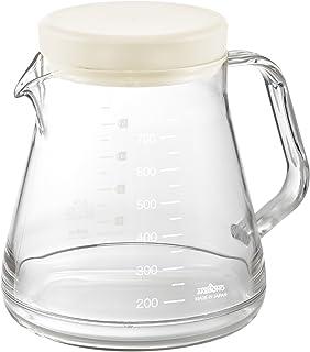曙産業 コーヒーサーバー ホワイト 750ml 5杯分 日本製 軽くて割れにくいトライタン樹脂製 ガラスのように透明 目盛付き 電子レンジ対応 口径が広くお手入れ楽々 コーヒーサーバー ストロン TW-3725