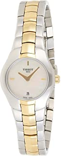 Tissot Womens Quartz Watch, Analog Display and Stainless Steel Strap T0960092211100