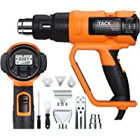 Tacklife HGP72AC 1700W Heavy Duty Hot Air Gun with Large LCD Display