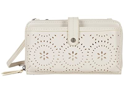 The Sak Iris Large Smartphone Crossbody (Stone Mandala Perf) Cross Body Handbags