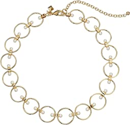 Rebecca Minkoff - Encircled Floating Pearls Choker