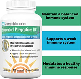 Immune System Booster BioIdentical Polypeptides-LD | Up to 40 Times More Immunity Boosting PRP Levels Than ...