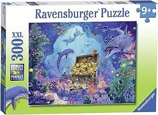 "Ravensburger 13255 Deep Sea Treasure Puzzle 300pc, 19.5"" x 14.25"""