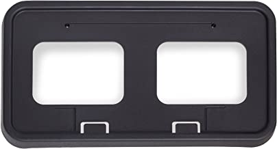 OxGord License Plate Bracket Front Bumper Tag Holder Mount Best for 2011-2016 Ford F-250 Super Duty Replaces BC3Z-17A385-AA