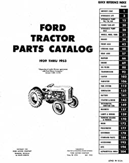 ford parts list