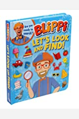 Blippi: Let's Look and Find! Board book