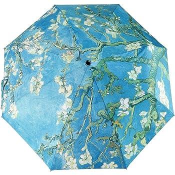 Starry Night Sky Reverse Umbrella Sunscreen Creative Auto Sun Umbrella