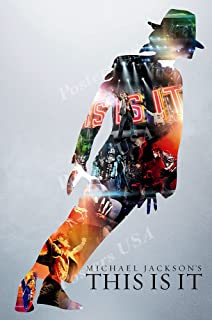 Posters USA - This Is It Michael Jackson Movie Poster GLOSSY FINISH - MOV811 (24