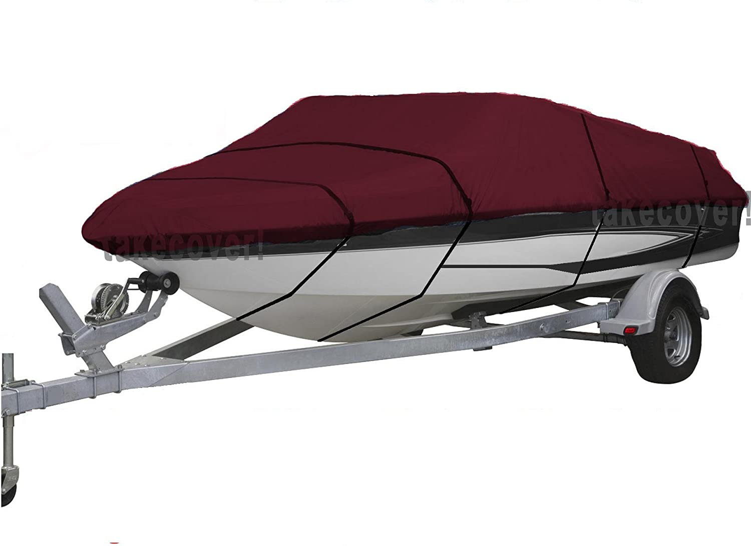 NJIUSA TKC Clearance SALE Limited Mesa Mall time Heavy Duty 420D Grade Trailer Marine Canvas Polyester