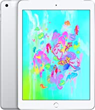 Apple iPad (Wi-Fi + Cellular, 128GB) - Silver (Previous Model)