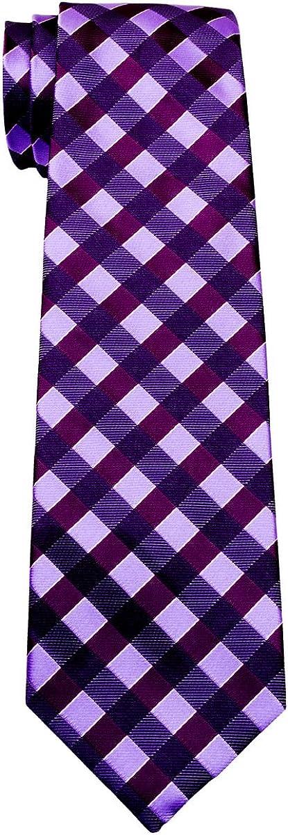 Retreez Classic Check Woven Boy's Tie - 8-10 years