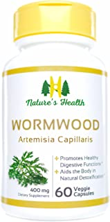 Wormwood, All-Natural Intestinal Cleanse, 100% Satisfaction Guarantee, Artemisia Capillaris, Artemisinin, Qing Hao, 800 MG...