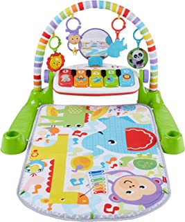 Fisher-Price Deluxe Kick 'n Play Juguete de piano para niños, na