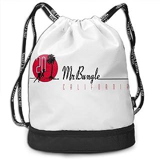 New York Men /& Women Drawstring Pack Beam Mouth Gym Sack Rucksack Shoulder Bags