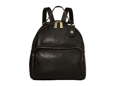 Tommy Hilfiger Julia Dome Backpack (Black) Backpack Bags