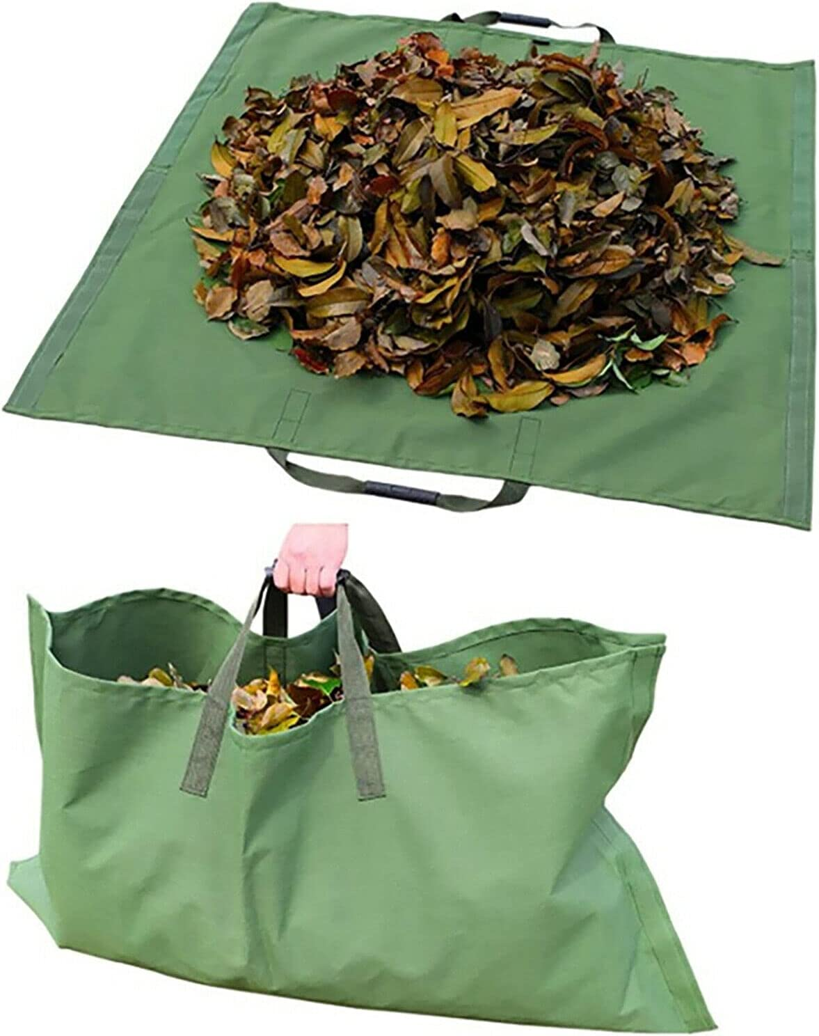 Leaf Bag for Collecting OFFicial shop Leaves Pool Lawn Foldable Denver Mall Garden W