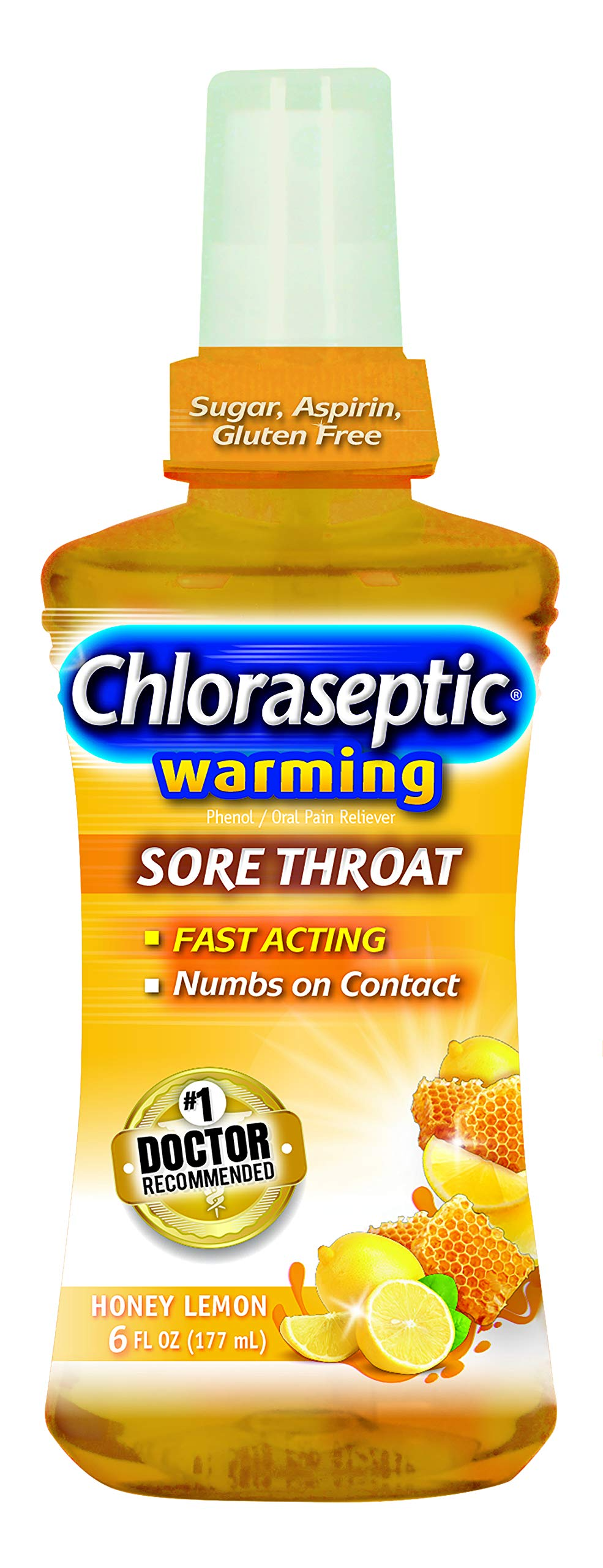 Chloraseptic Throat Spray Warming Bottle