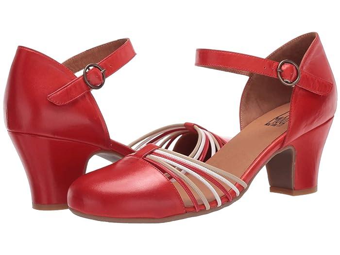 70s Shoes, Platforms, Boots, Heels Miz Mooz Fedora Scarlet Womens Shoes $139.95 AT vintagedancer.com