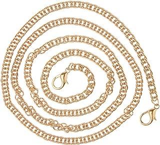 Prettyia 120cm Antique Metal Chain Strap Replacement for Shoulder Bag Clutch Crossbody