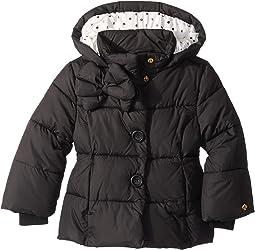 Bow Puffer Coat (Toddler/Little Kids)