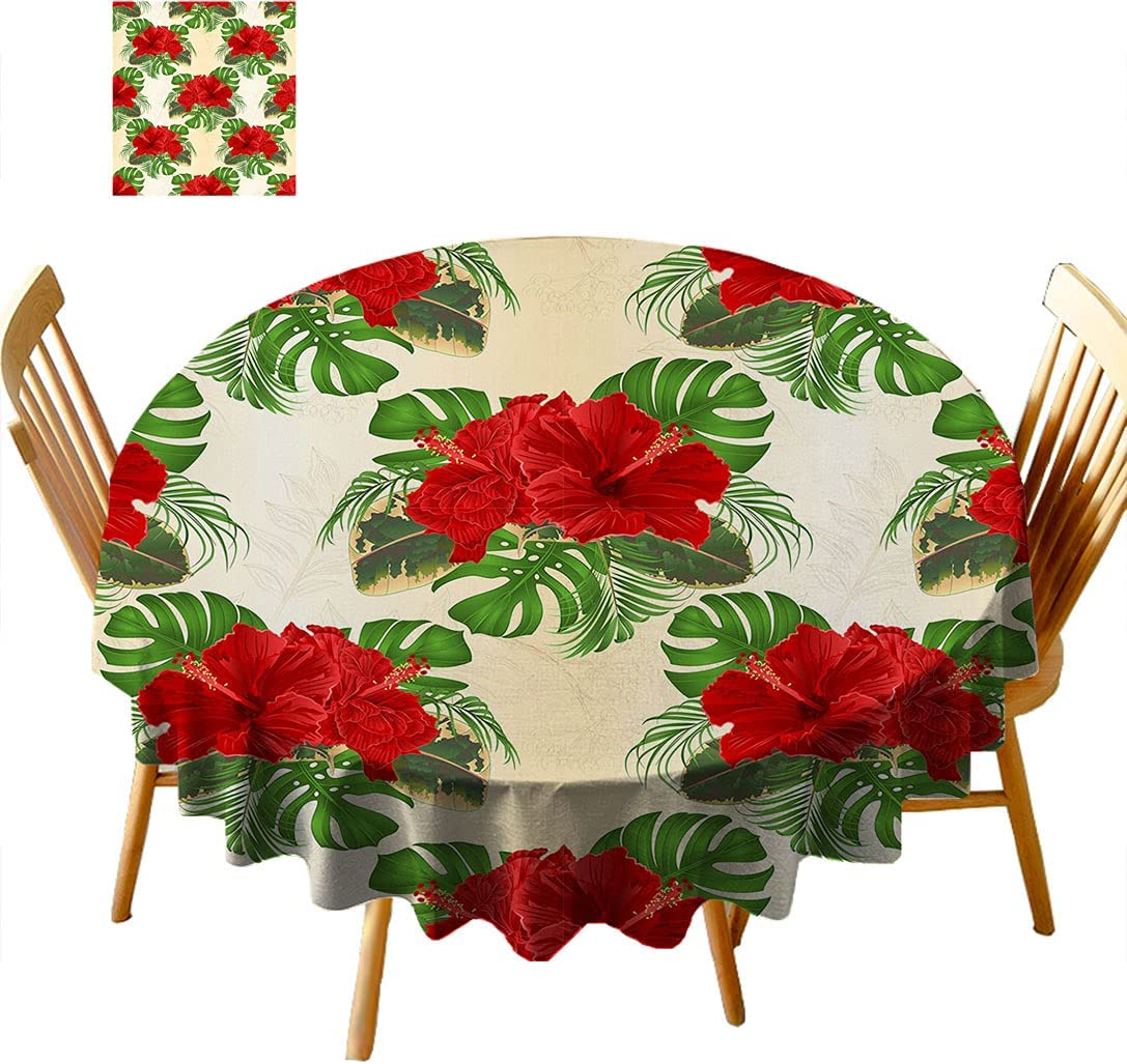 Home Textile Printing Amazing Flowers 2021 autumn and winter new overseas Floral Tropical Tablecloth