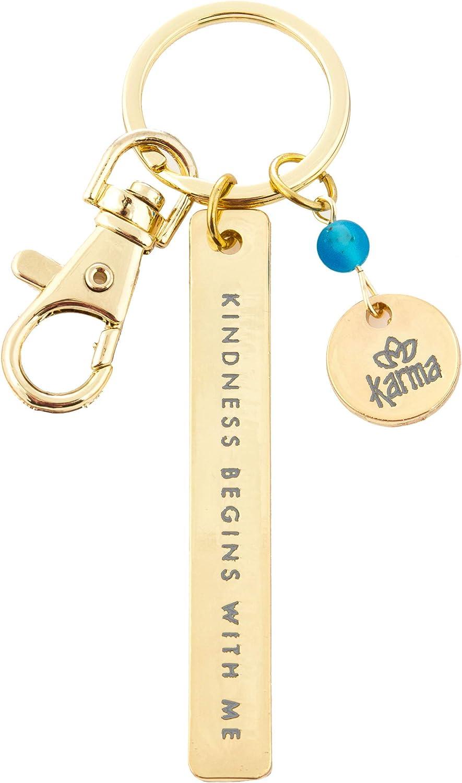 Karma Gifts Minimalist Key Chain (KA3601NAV), Kindness