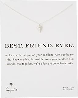 Dogeared - Best. Friend. Ever. Pyramid Heart Reminder