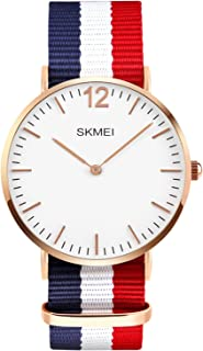 Men's Casual Classic Quartz Analog Waterproof Wrist Watches Stainless Steel Ultrathin Case Dress Watch