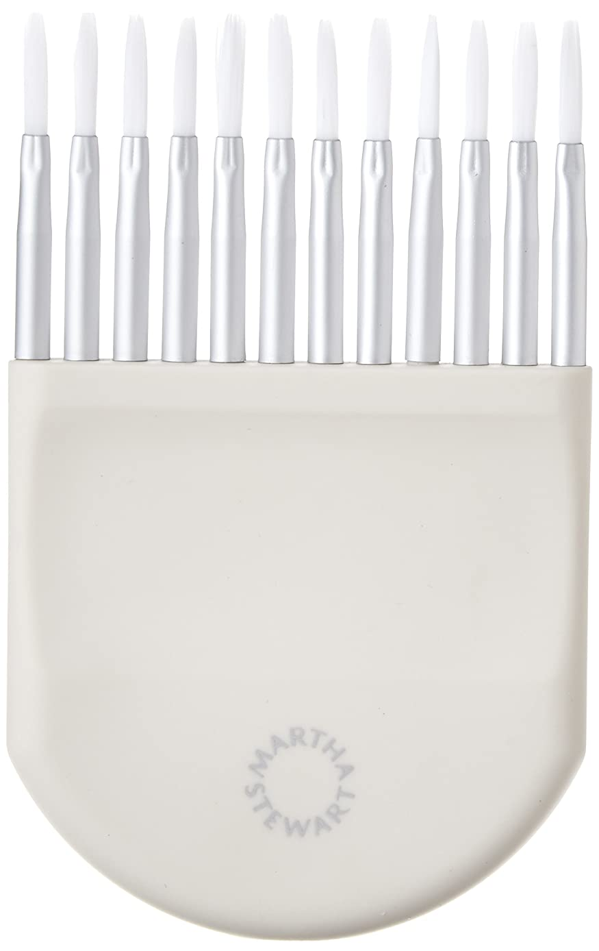 Martha Stewart Crafts Adjustable Striping Brush, 32232
