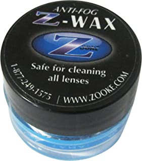 Zooke Z-Wax Anti-Fog defogger. Anti-Fog Lens Cleaner