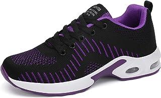 Dannto Femme Air Baskets Chaussures de Sport Ultra-légères pour Homme Chaussures de Sport à Coussin d'air Baskets Mode Cha...