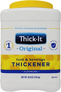 Thick-It Instant Food and Beverage Thickener, Original, 36 Ounce, Package may vary
