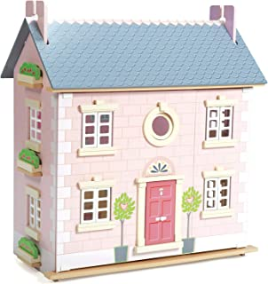 Le Toy Van Daisylane Collection   Bay Tree Dollhouse   Premium Wooden Toys for Kids Ages 3 Years & Up (TV462)