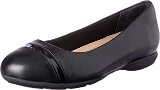 Hush Puppies Women's Cedar Ballet Flats Black