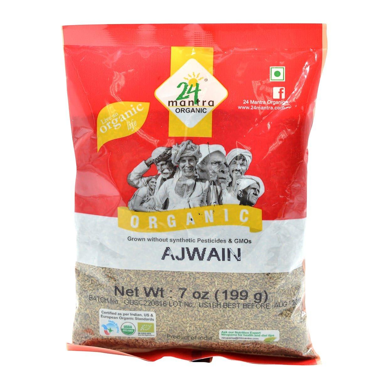 24 MANTRA Organic Some reservation Ajwain Seeds Europe - Certified USDA Bargain