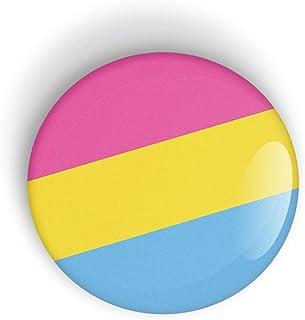 Pansexual Pride Flag Orgoglio Pansessuale perno o calamita da frigo LGBT LGBTQ LGBTQI LGBTQIA