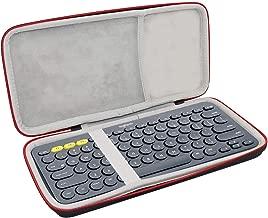 Asafez Hard Case for Logitech K380 Multi-Device Bluetooth Keyboard