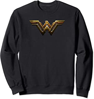 DC Comics Justice League Movie Wonder Woman Emblem Sweatshirt
