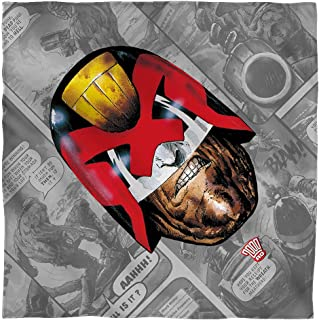 Trevco Judge Dredd Grimace Bandana Fashion Accessory (22x22)