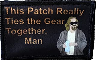 Big Lebowski Pee Rug Morale Patch. Perfect for your Tactical Military Army Gear, Backpack, Operator Baseball Cap, Plate Carrier or Vest. 2x3