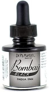 Dr. Ph. Martin's Bombay India Ink, 1.0 oz, Black